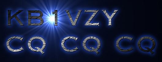 KB1VZY<br> CQ CQ CQ
