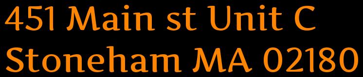 451 Main st Unit C  Stoneham MA 02180