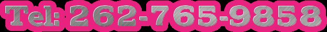 Tel: 262-765-9858
