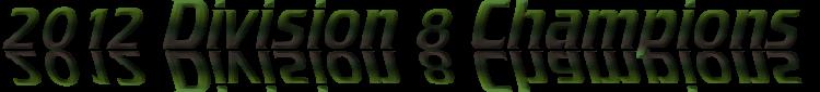 2012 Division 8 Champions