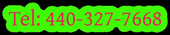 Tel: 440-327-7668