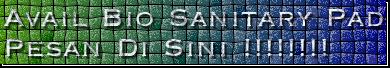 Avail Bio Sanitary Pad Pesan Di Sini !!!!!!!!