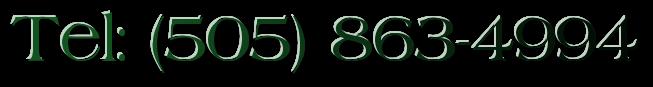 Tel: (505) 863-4994
