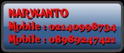 NARWANTO Mobile : 02140998734 Mobile : 08989247421