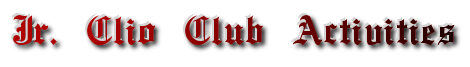 Jr. Clio Club Activities