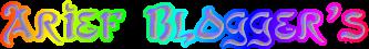 Arief Blogger's