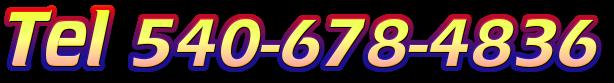 Tel 540-678-4836
