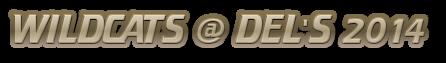WILDCATS @ DEL'S 2014