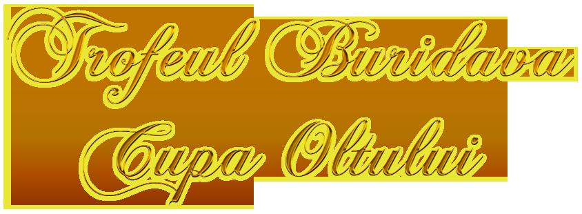 Trofeul Buridava    Cupa Oltului