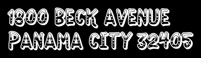 1800 BECK AVENUE PANAMA CITY 32405