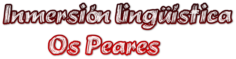 Inmersión lingüística<br />         Os Peares