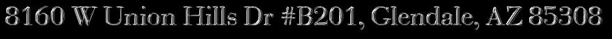 8160 W Union Hills Dr #B201, Glendale, AZ 85308
