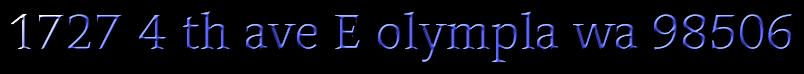 1727 4 th ave E olympla wa 98506