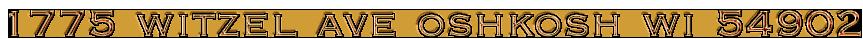 1775 witzel ave oshkosh wi 54902