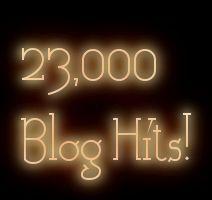 23,000 Blog Hits!
