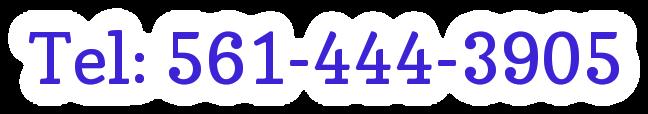 Tel: 561-444-3905