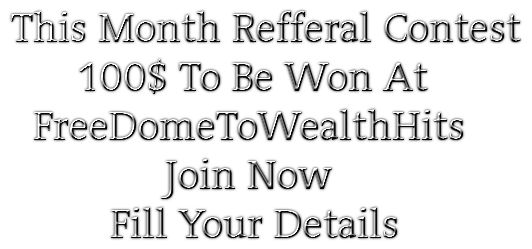 This Month Refferal Contest