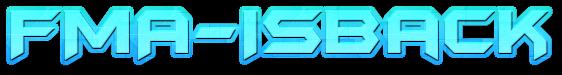 FMA-IsBack