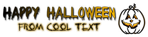 Happy Halloween From Cool Text