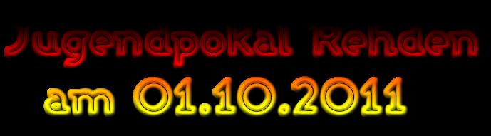 Jugendpokal Rehden   am 01.10.2011