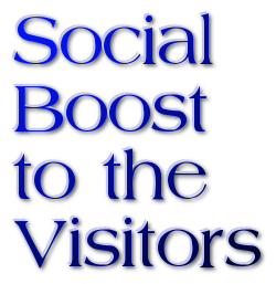 Social  Boost to the Visitors