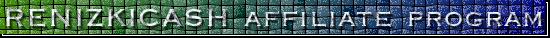 RENIZKICASH affiliate program