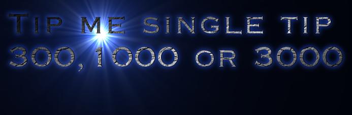Tip me single tip 300,1000 or 3000