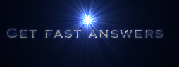 Get fast answers