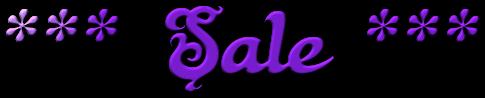 *** Sale ***
