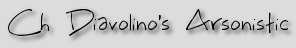 Ch Diavolino's Arsonistic