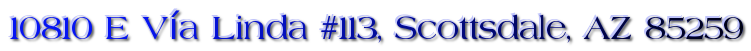 10810 E Vía Linda #113, Scottsdale, AZ 85259