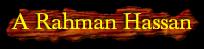 A Rahman Hassan