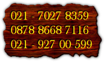 021 - 7027 8359 0878 8668 7116 021 - 927 00 599