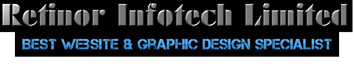 Retinor Infotech Limited    Best Website & Graphic Design Specialist