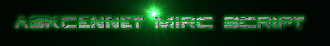 AskCennet mirc script