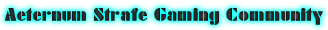 Aeternum Strafe Gaming Community