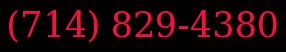 (714) 829-4380