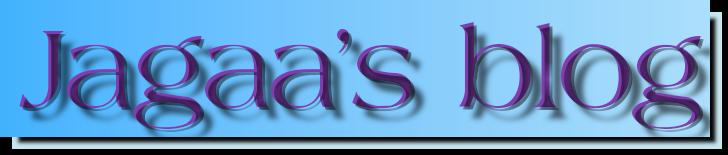 Jagaa's blog