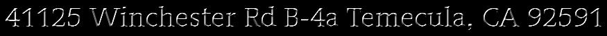 41125 Winchester Rd B-4a Temecula, CA 92591