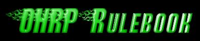 OHRP  Rulebook