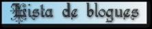 Lista de blogues
