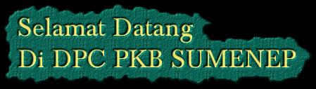 Selamat Datang Di DPC PKB SUMENEP