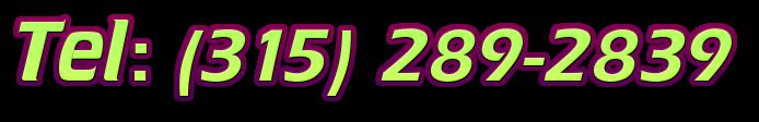 Tel: (315) 289-2839