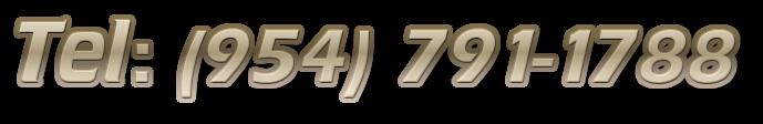 Tel: (954) 791-1788