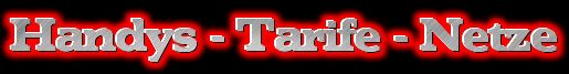Handys - Tarife - Netze