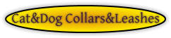 Cat&Dog Collars&Leashes