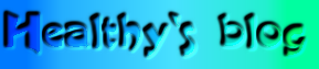 Healthy`s blog