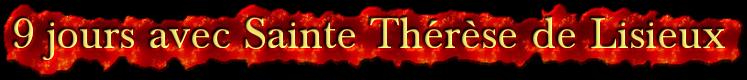 Neuvaine à Sainte Thérèse de Lisieux (22 Septembre / 1er octobre) 3936778