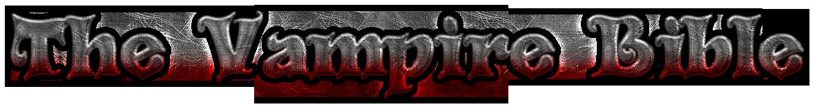 The Vampire Bible