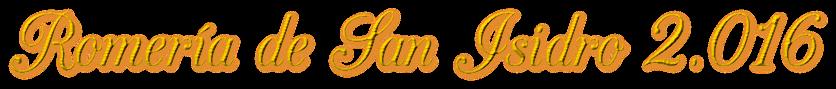 Romería de San Isidro 2.016